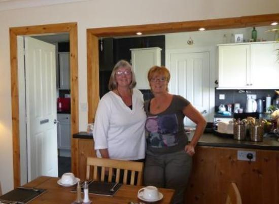 Lios Mhoire Bed and Breakfast : Mary & Kareen