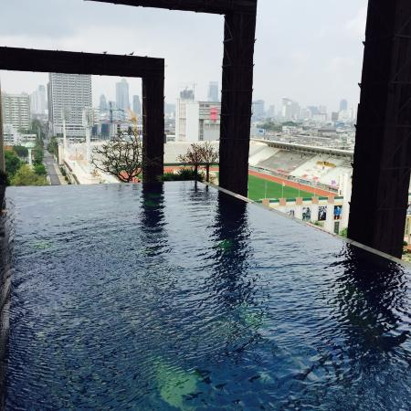 Small infinity pool picture of siam siam design hotel - Small infinity pool ...
