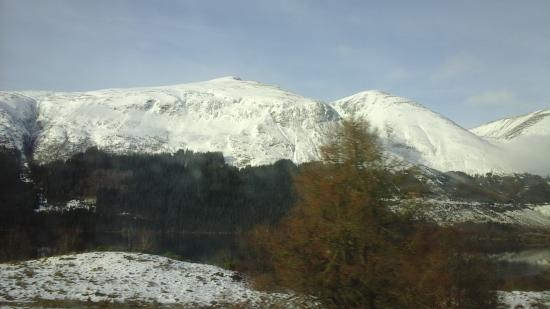 Bay Caledonian Hotel : Snow covered