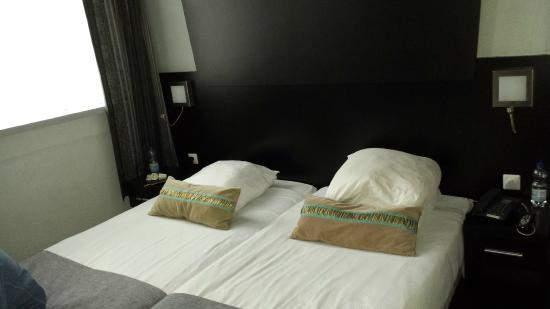 Hotel De Looier: was supposed to be a double bed