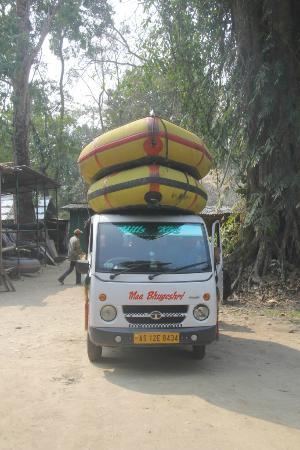 Nameri Eco Camp: Raft