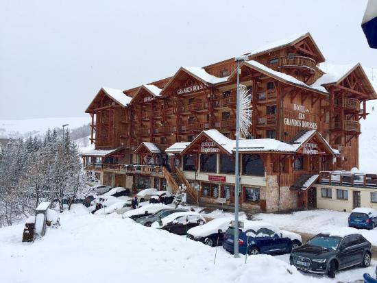 Hotel  Grandes Rousses : Vue du telecentre