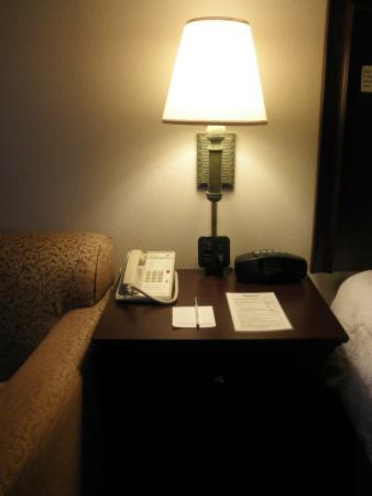 Hampton Inn Melbourne : lamp