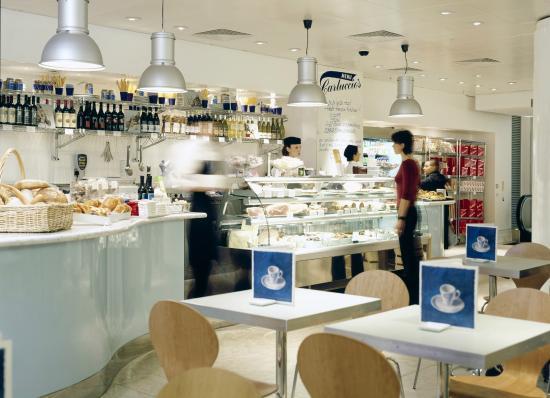 Carluccio's - London, Fenwick Bond St.: Carluccio's Bond Street Restaurant