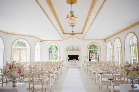 Northbrook Park Mews: The ceremony room