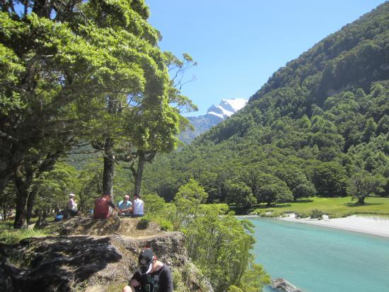 Wanaka River Journeys: Resting in Mt Aspiring National Park
