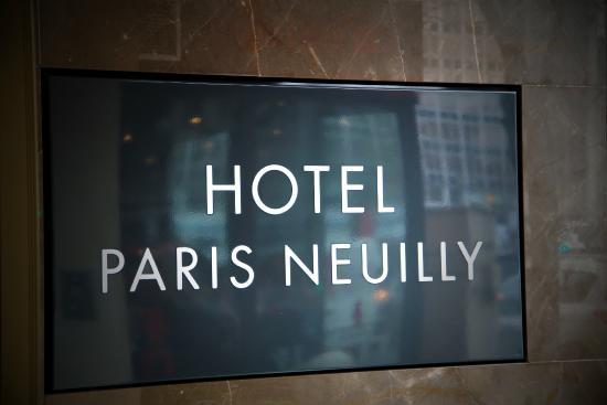 Hotel Paris Neuilly Neuilly Sur Seine France Voir Les