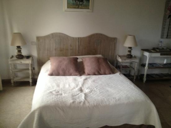 Domaine du Manoir: la chambre chartreuse