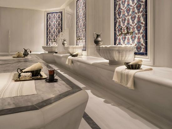 Shangri-La Bosphorus, Istanbul: CHI, The Spa Turkish Bath Hammam