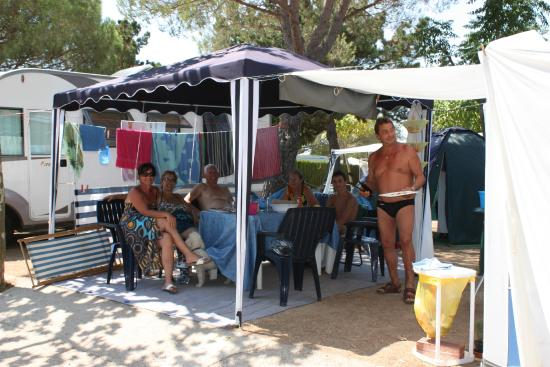 Kim's Camping Caravaning & Bungalow Park: Parcela de camping - Camping pitch