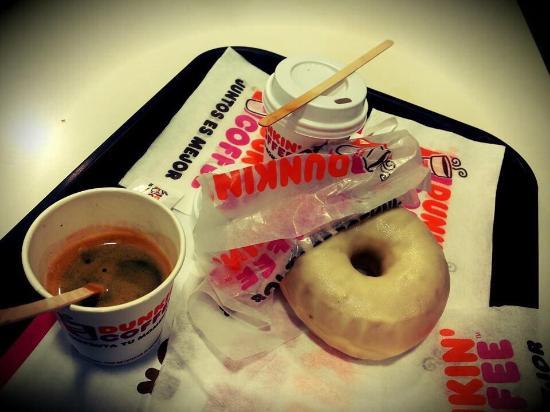 Dunkin Coffee: Caffè più donut