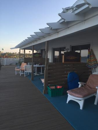 Suites on the Beach: From deck