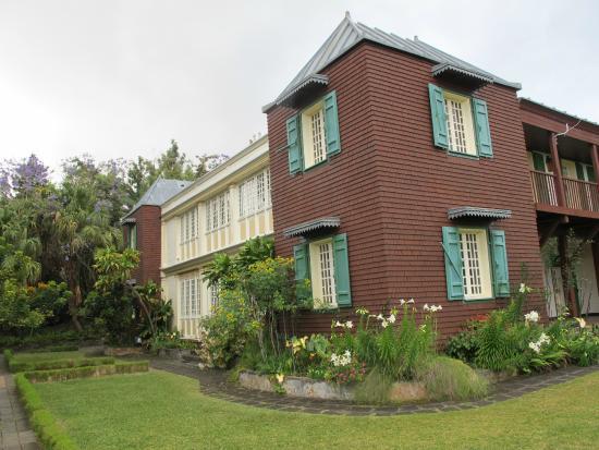 Conservatoire Botanique National de Mascarin: le batiment administratif que l'on ne visite pas.