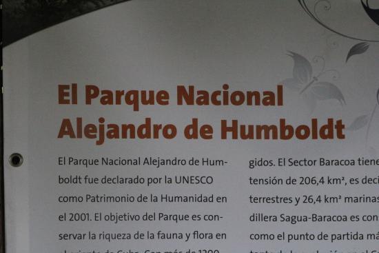 Alejandro de Humboldt National Park: der AHNP