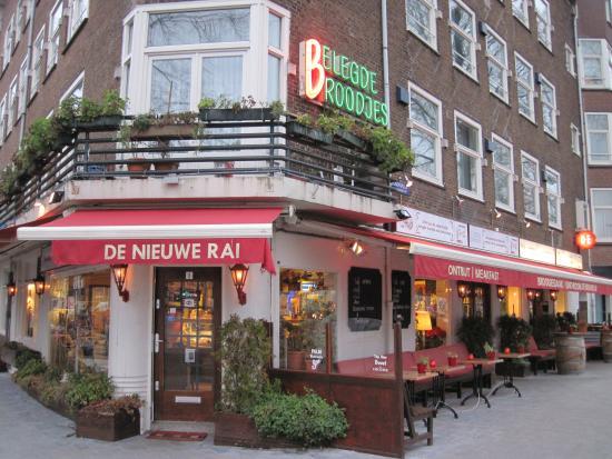 Broodjeszaak de nieuwe rai amsterdam for Nieuwe restaurants amsterdam
