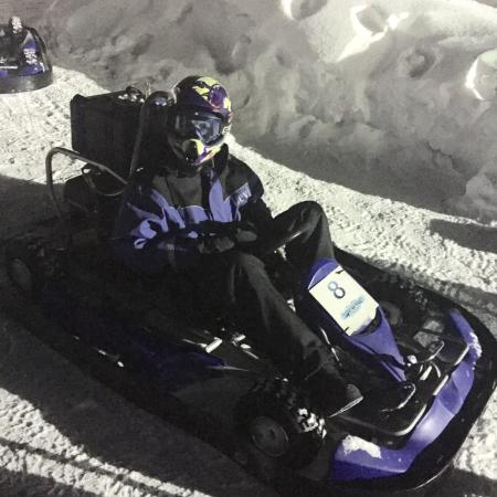 7ea40bba869 Ice karting - Picture of Ice Karting Levi
