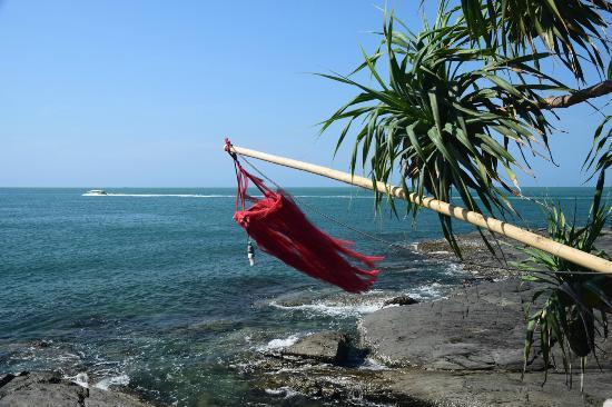 Bamboo Bay Resort: Udsigt fra restaurent