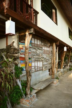 Bamboo Bay Resort: Unique stil