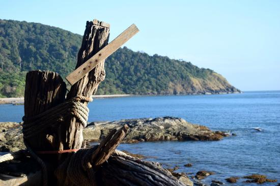 Bamboo Bay Resort: Udsigt fra afslapning område