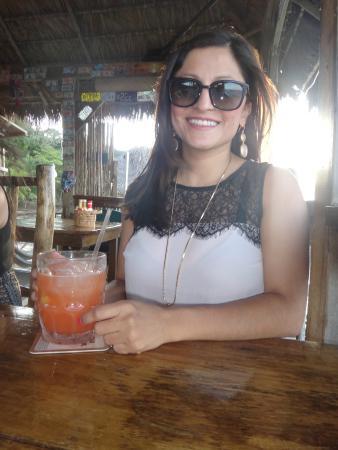 La Sirena de Camp Bay : Enjoying my rum punch