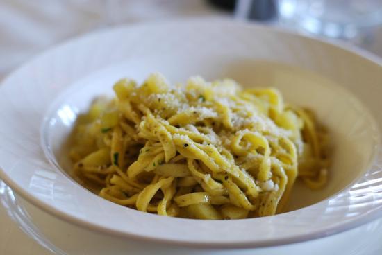 I Muretti: tagliolini zucca e tartufo