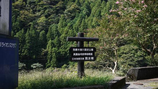 Shirakawa-cho, Japan: 飛水峡