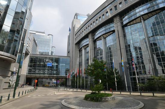 - Foto van European Parliament (Hemicycle visits), Brussel ...