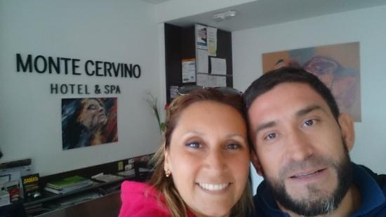 Hotel Monte Cervino: llegada al hotel
