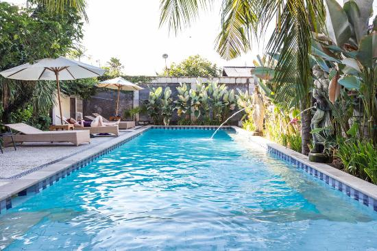 Bali Guest Villas: Big pool. uses wifi too there