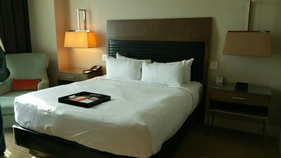 Room - King bed at Fairmont Pittsburgh