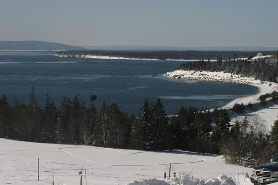 Bras d'Or  Lake : Neila`s Back Yard - Feb 2015