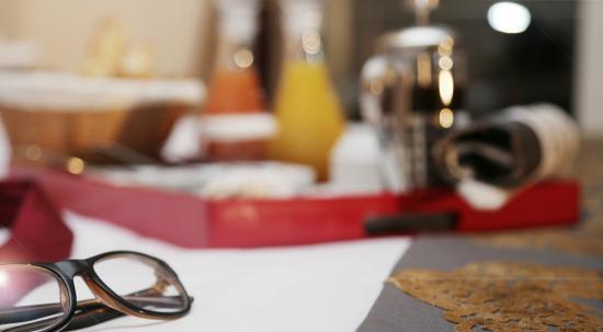 Grand Mogador Sea View - Hotel de luxe : petit déjeuner en chambre