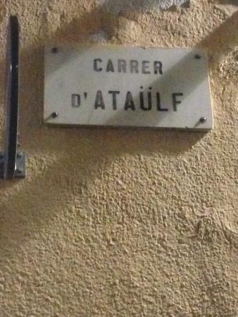 AinB Gothic-Jaume I: Adressen på lejligheden.