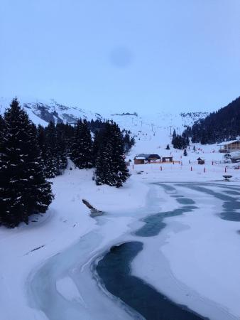 Mercure Courchevel: View from our balcony