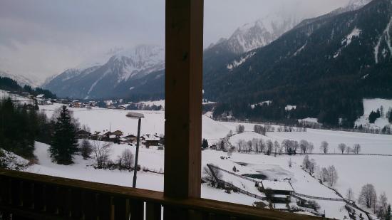 Kranebitt: Vista dalla terrazza