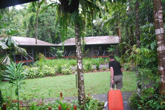 Heritage Lodge & Spa: In the middle of the rainforest
