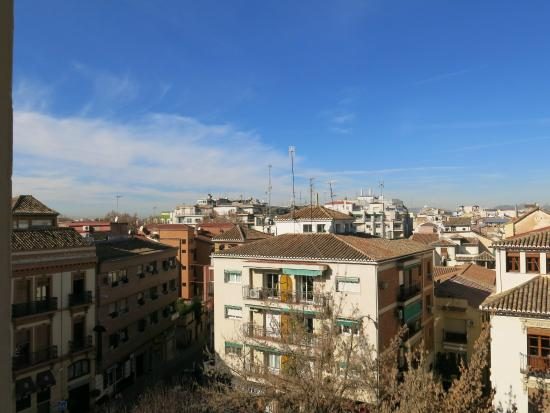 Hotel Carlos V : View from the room