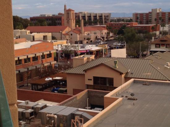 Tucson University Park Hotel: View from My Balcony
