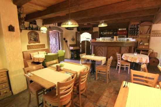 Hotel Frydl: Restaurant Zeleny Dvur