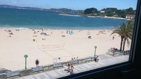Hotel City House Rias Altas: vista desde habitación 2ª planta vistas al mar