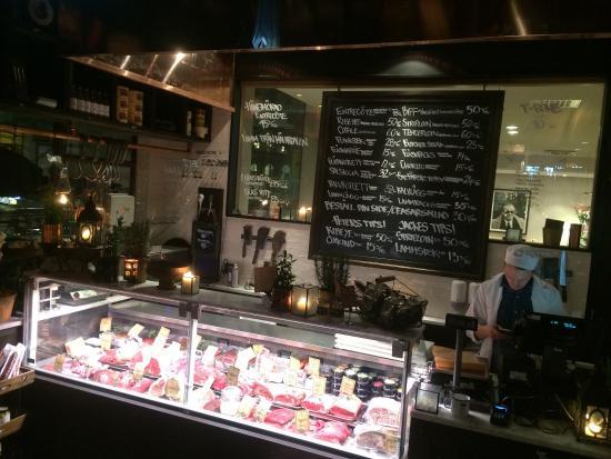 Photo of Seafood Restaurant Kott Och Fiskbaren at 40 Gamla Brogatan, Stockholm 111 20, Sweden