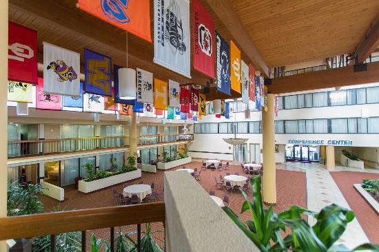 ويندام جاردن آن أربور: Atrium View