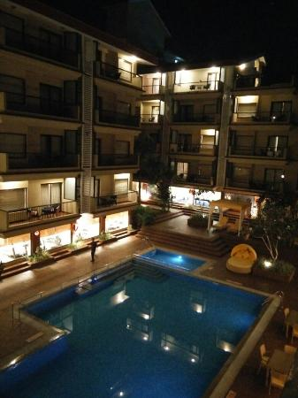 Deltin Suites: View from our room, 322a