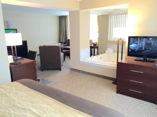 Quality Inn & Suites: Whirlpool Suite