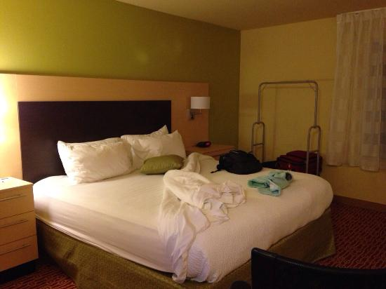TownePlace Suites Galveston Island : Bed