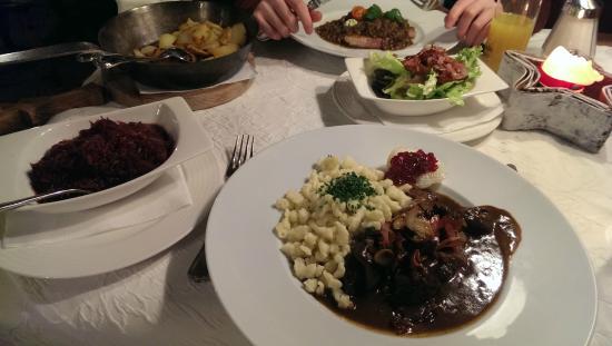 Hotel Wastlhof: Very nice food