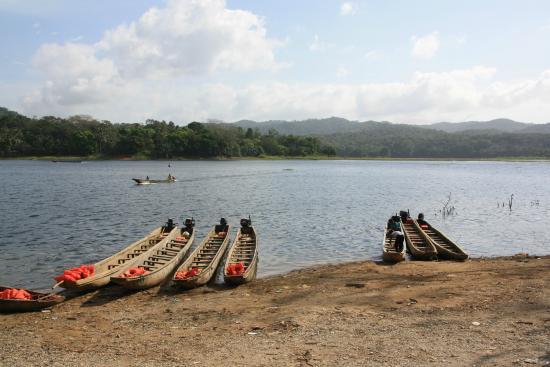 Rio Gatun, Panama: Dugout canoes