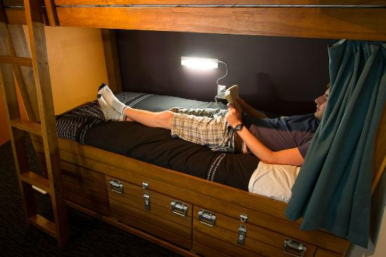 Dorm Bed Our Custom Made Bunk Beds Have Night Lights And Lockable