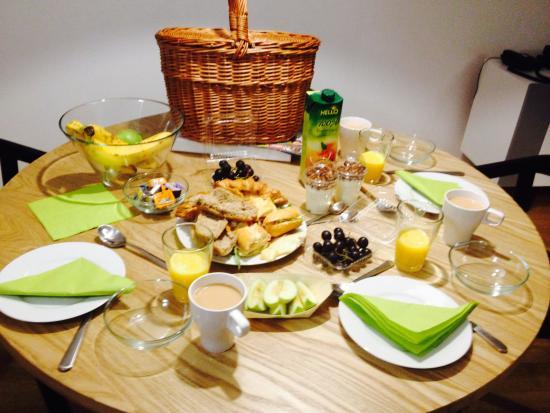 Rybna 9 Apartments: Breakfast