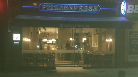 Our New Frontage Picture Of Pizza Express Sutton